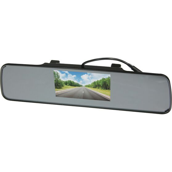 SCA Rear View Mirror and Camera Kit - Wired, 4.3inch, , scanz_hi-res
