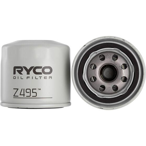 Ryco Oil Filter - Z495, , scanz_hi-res
