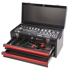 Tool Kit - 2 Drawer Chest, 112 Piece, , scanz_hi-res