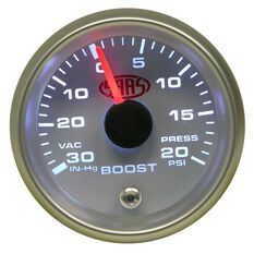 SAAS Boost Gauge - White, 52mm, , scanz_hi-res