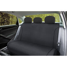 SCA Canvas Seat Covers - Charcoal/Grey, Adjustable Headrests, Size 06H, Rear Seat, , scanz_hi-res