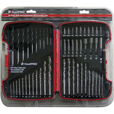 ToolPRO Drill and Bit Kit 52 Piece, , scanz_hi-res