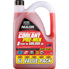 Nulon Red Premium Long Life Coolant Premix 6 Litre, , scanz_hi-res