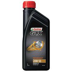 Castrol GTX Engine Oil - 20W-50, 1 Litre, , scanz_hi-res