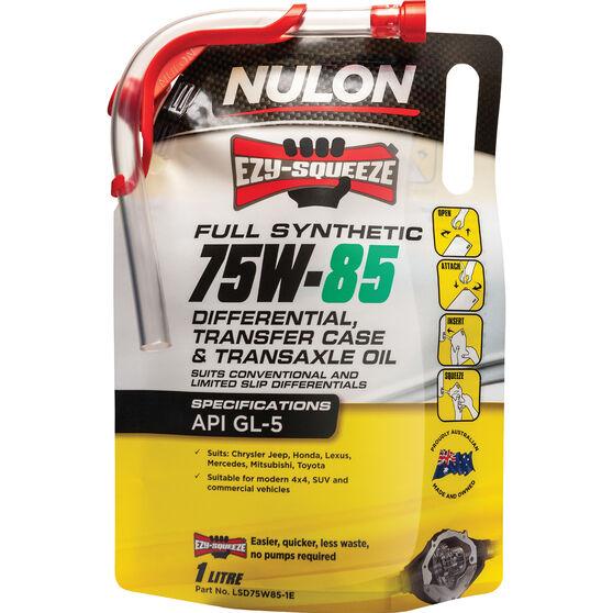 NULON EZY-SQUEEZE Differential, Transfer Case & Transaxle Oil - 75W-85, 1 Litre, , scanz_hi-res