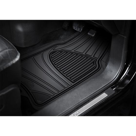 Armor All Car Floor Mats Black Set of 4, , scanz_hi-res