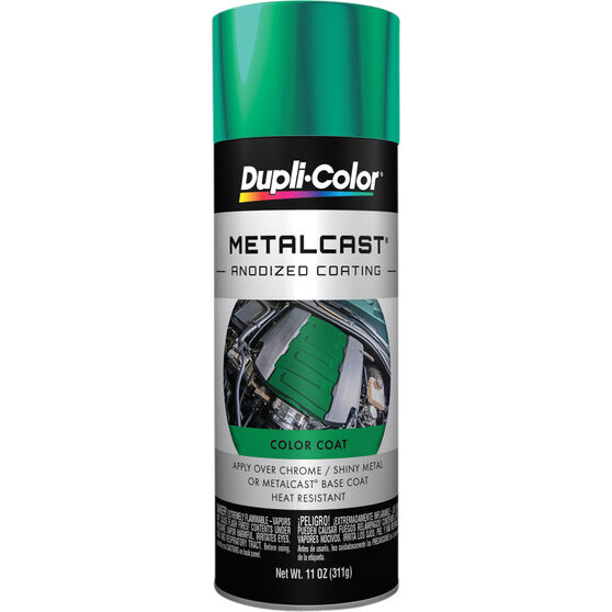 Dupli-Color Metalcast Aerosol Paint - Enamel, Green Anodised, 311g, , scanz_hi-res