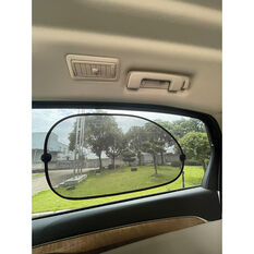 SCA Window Shade - Side, Contour, Black 38x65cm, Pair, , scanz_hi-res