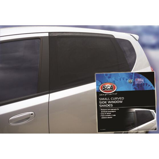 SCA Window Shade Side Small Curved Black Pair, , scanz_hi-res