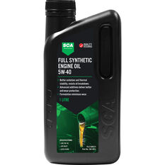 SCA Full Synthetic Engine Oil 5W-40 A3/B4 1 Litre, , scanz_hi-res