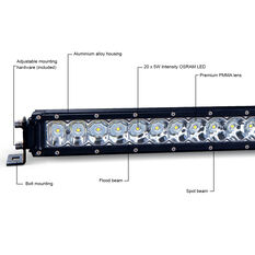 "Ridge Ryder 21"" LED Driving Light Bar 84W with harness, , scanz_hi-res"