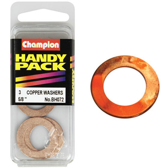 Champion Copper Washers - 5 / 8inch, Handy Pack, , scanz_hi-res