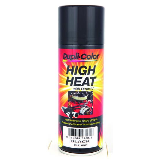Dupli-Color Aerosol Paint - High Heat, Black, 340g, , scanz_hi-res