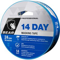 Norton 14 Day Masking Tape - Blue, 24mm x 50m, , scanz_hi-res