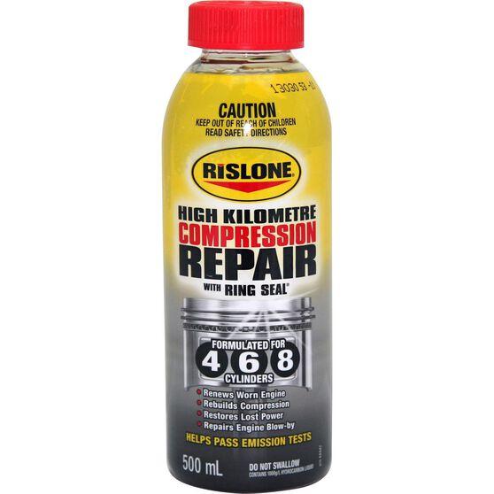 Rislone High Kilometre Compression Repair 500mL, , scanz_hi-res