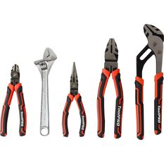 ToolPRO Plier and Wrench Set - 5 Pieces, , scanz_hi-res