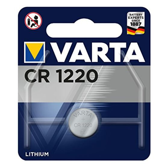 Varta Lithium Coin Battery - CR1220, 1 Pack, , scanz_hi-res