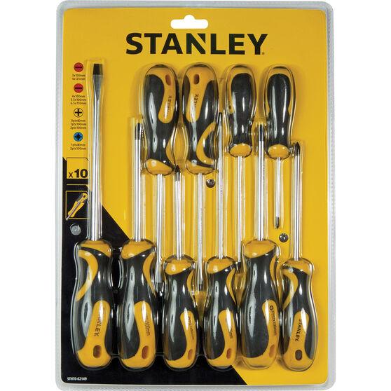 Stanley Screwdriver Set - 10 Piece, , scanz_hi-res