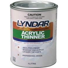Lyndar Acrylic Thinner - 1 Litre, , scanz_hi-res