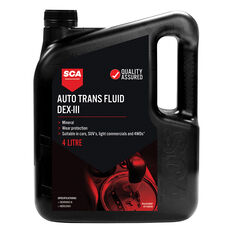 SCA ATF DX-III Automatic Transmission Fluid 4 Litre, , scanz_hi-res
