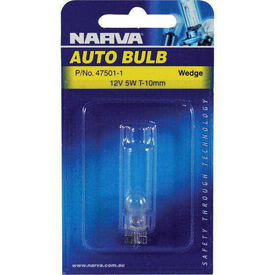 Narva Bulb - 12V, 5W, T-10mm, , scanz_hi-res