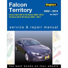 Car Manual For Ford Falcon / Territory 2002-2014 - 277, , scanz_hi-res