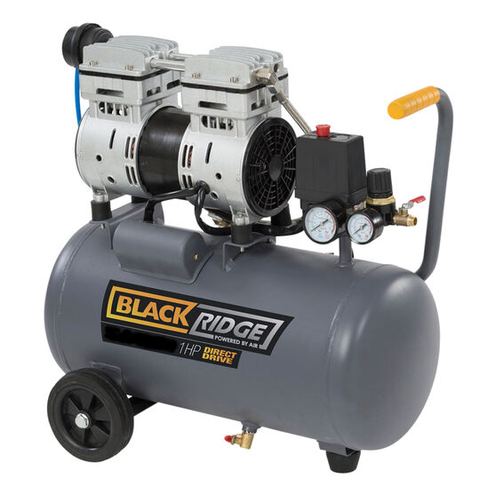 Blackridge Air Compressor Silent 1.0HP 50LPM, , scanz_hi-res