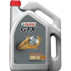 Castrol GTX Engine Oil - 20W-50, 4 Litre, , scanz_hi-res