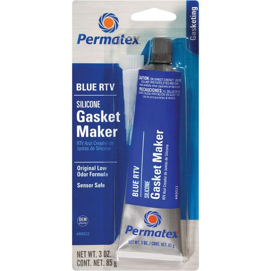 Permatex RTV Silicone Gasket Maker - Blue, 85g, , scanz_hi-res