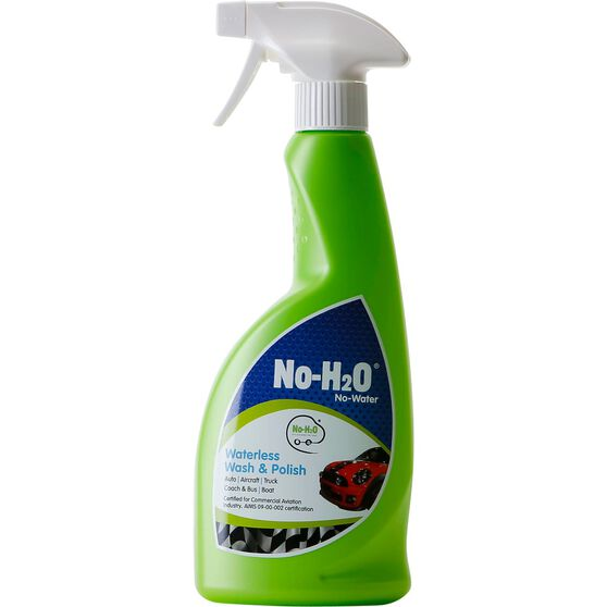 No-H2O Waterless Wash and Polish - 500mL, , scanz_hi-res