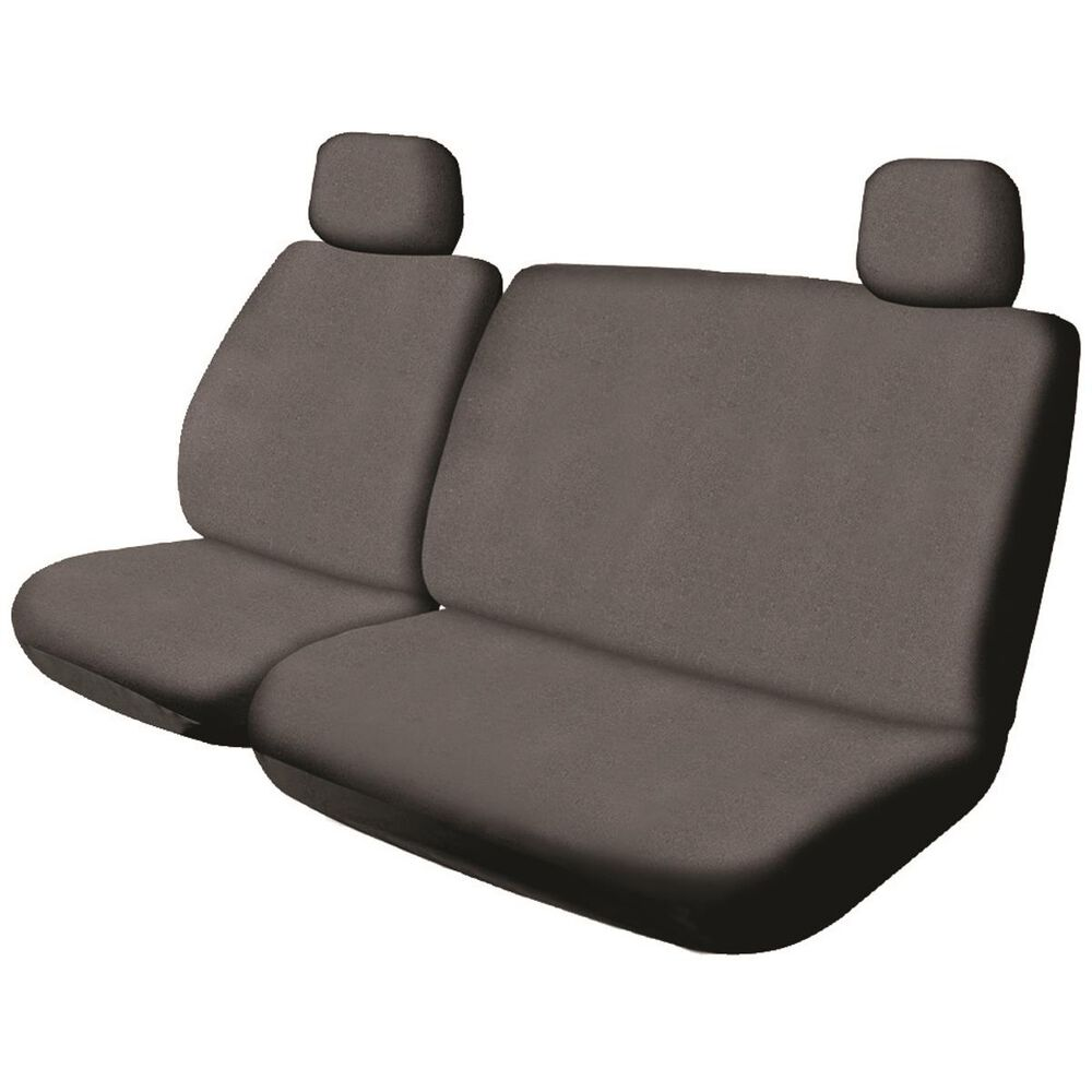 Sca Canvas Ute Seat Cover Charcoal Size 301 Front