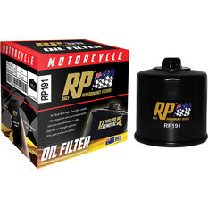 Race Performance Motorcycle Oil Filter - RP191, , scanz_hi-res