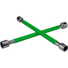 Wheel Brace, Rubber Grip, Green, , scanz_hi-res