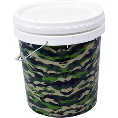 SCA Design Pail- Green Camo, 15 Litre, , scanz_hi-res