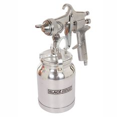 Blackridge High Pressure Air Spray Gun - 1000mL, , scanz_hi-res