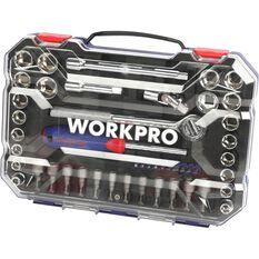 "Workpro Socket Set - 3/8"" Drive, 47 Piece, , scanz_hi-res"