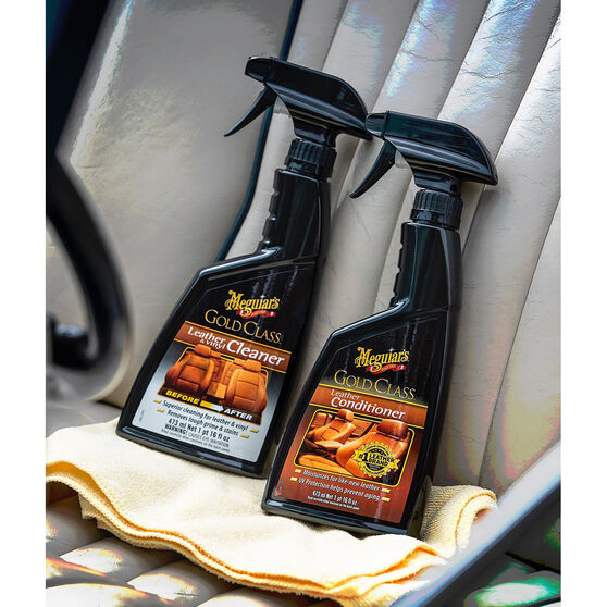 Meguiar's Gold Class, Leather and Vinyl Cleaner - 473mL, , scanz_hi-res