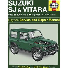 Car Manual For Suzuki Sierra / Vitara 1982-1997 - 1942, , scanz_hi-res