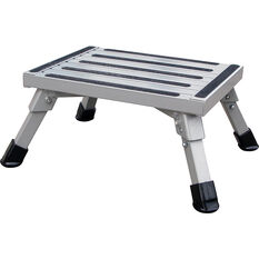SCA Caravan Folding Step, Aluminium - Medium, , scanz_hi-res