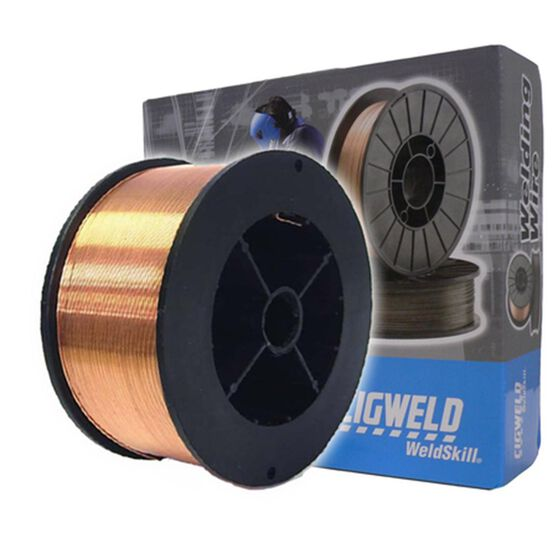 Cigweld Solid Mig Welding Wire Mini Spool - 0.9kg,  0.6mm, , scanz_hi-res