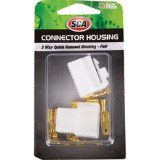 SCA Quick Connect Housing - 3 Way, 20 AMP, , scanz_hi-res