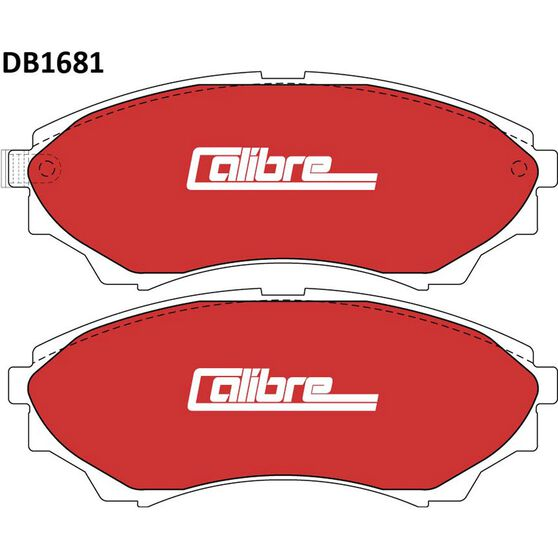 Calibre Disc Brake Pads - DB1681CAL, , scanz_hi-res