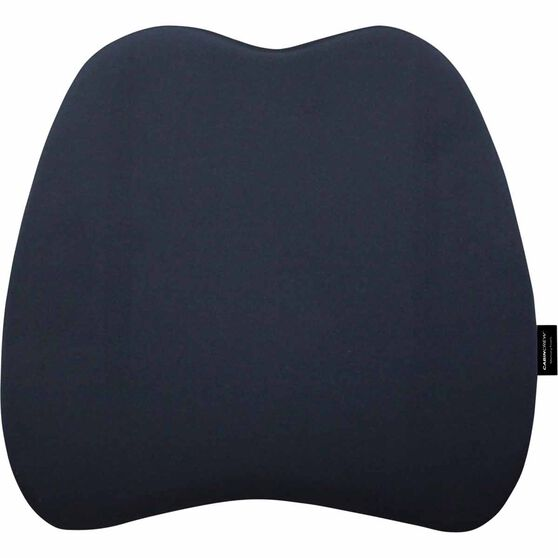 Memory Foam Lumbar Cushion - Black, , scanz_hi-res