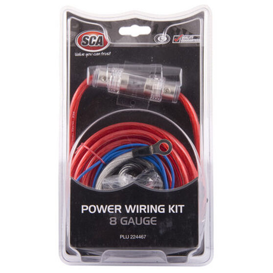 SCA Power Wiring Kit - 8G, , scanz_hi-res