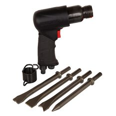 Blackridge Air Hammer & 4 Piece Chisels - 175mm, , scanz_hi-res