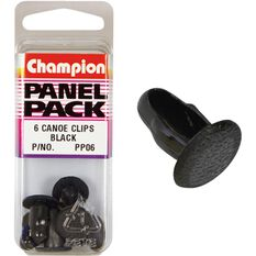 Champion Canoe Clips - PP06, Black, Panel Pack, , scanz_hi-res
