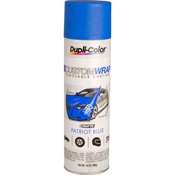 Dupli-Color Aerosol Paint Custom Wrap - Matte Patriot Blue, 396g, , scanz_hi-res