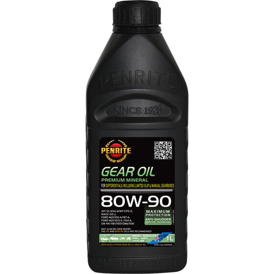 Penrite Gear Oil - 80W-90, 1 Litre, , scanz_hi-res