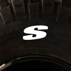 Tire Stickers - Letter S, , scanz_hi-res