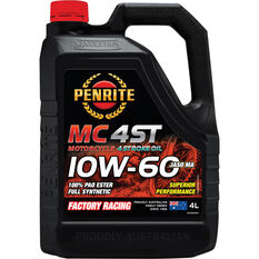 Penrite MC-4 Synthetic Motorcycle Oil - 10W-60 , 4 Litre, , scanz_hi-res